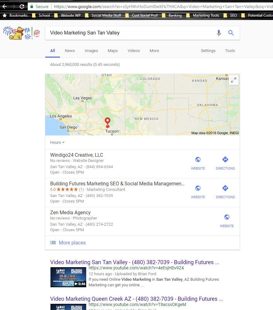 Video Marketing Search